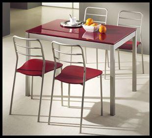 Ucuz Cam Mutfak Masası Modelleri