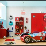 Arabalı çocuk odası dekorasyonu