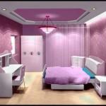 Pembe çocuk odası dekorasyonu