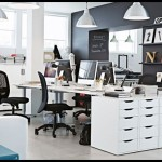 Ikea ofis dekorasyonu