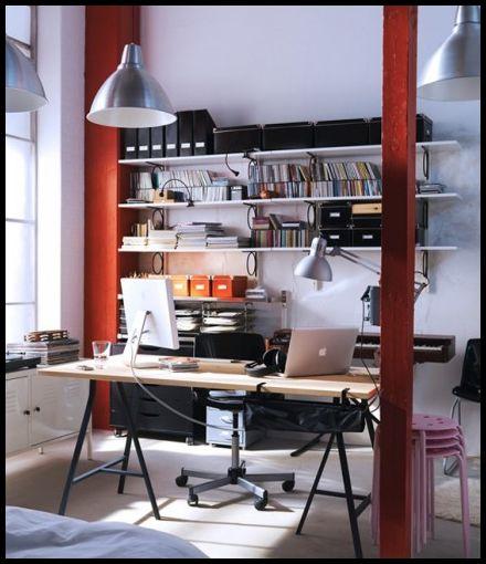 IKEA Ofis Mobilyası Örnekleri