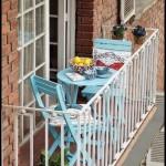 Küçük balkon dekor fikirleri