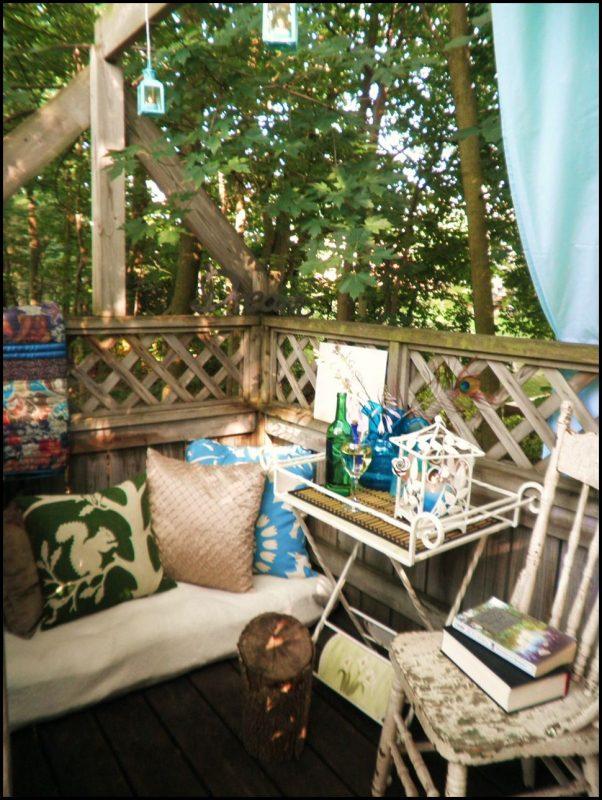 Küçük balkon resimleri