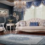 Oturma odası perdeleri