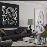 Siyah beyez dekorasyon modelleri