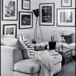 Siyah beyez modern koltuk