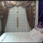 Yatak odası perde tasarımları
