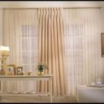 Yatak odası perde ve tül modelleri