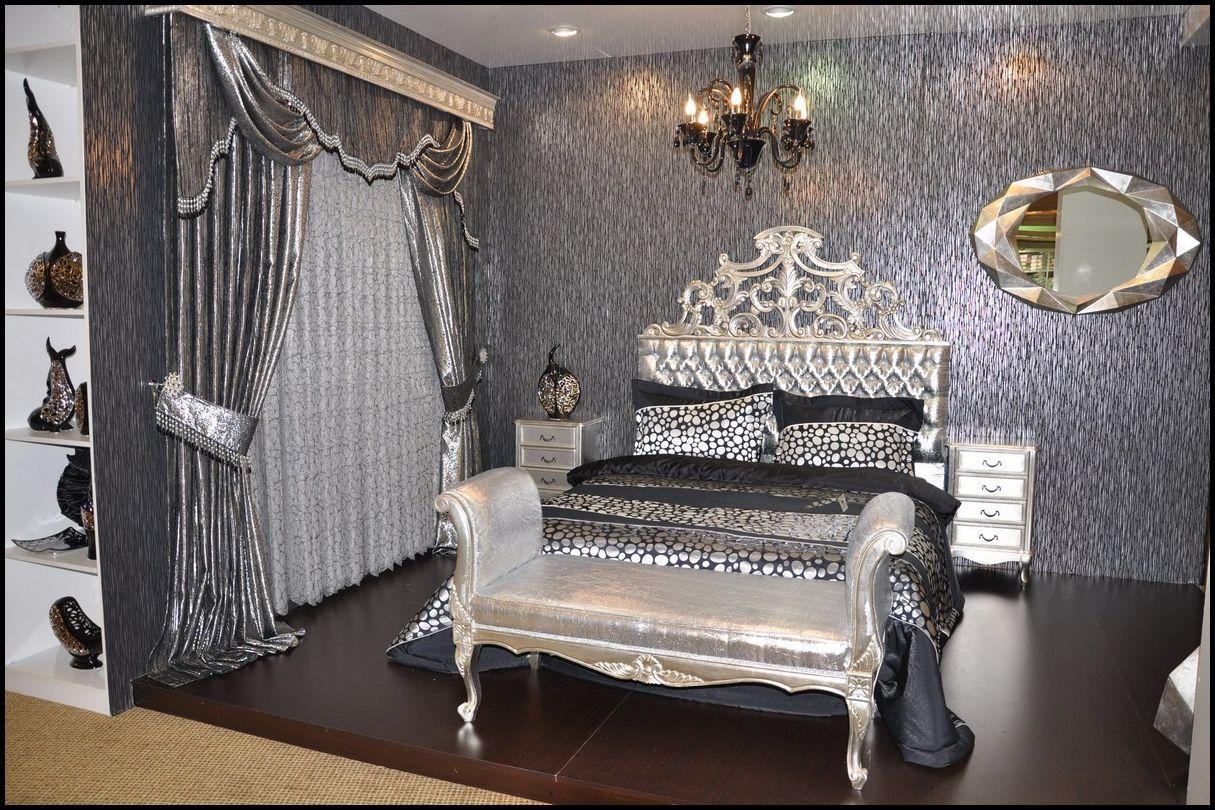 Yatak odası perde ve tülleri