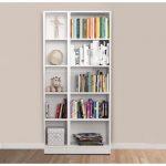 Evidea beyaz kitaplık modelleri