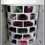 Dekoratif ayakkabılık modelleri