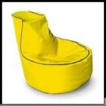 Sarı puf koltuk