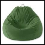 Yeşil puf koltuk