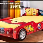 Çilek mobilya araba karyola örnekleri