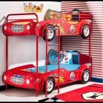 Çilek mobilya renkli araba karyola modelleri