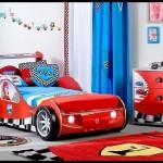 Çilek mobilya sarı araba karyola modelleri