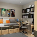 Genç odası dekorasyonu farklı