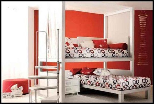 İlginç genç odası dekorasyonu