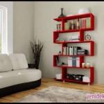 Kırmızı kitaplık modelleri