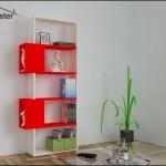 Renkli kitaplık modelleri