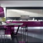 Modern mutfak modelleri pembe