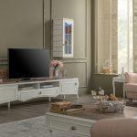 Enza klasik tv ünitesi tasarımı veronica