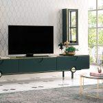 Enza modern tv ünitesi dekorasyonu ottavia
