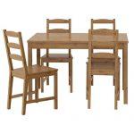 İkea doğal masa sandalye takımı jokkmokk