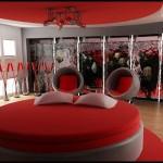 Kırmızı yatak odası çeşitleri
