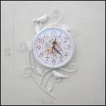 Beyaz duvar saati modelleri