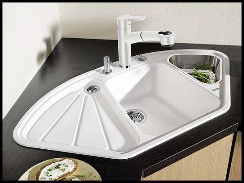 Beyaz mutfak lavabo modelleri