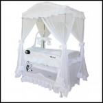 Beyaz park yatak