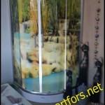 Manzara temalı duşakabin kaplama