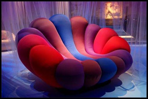gökkuşağı puf koltuk modelleri