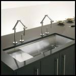 İki musluklu mutfak lavabo modelleri