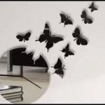 Kelebek duvar saati modelleri