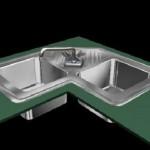 Köşe mutfak lavabo modelleri