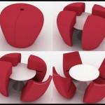 Parçalı puf koltuk modelleri
