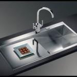 Parlak mutfak lavabo modelleri