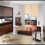 En modern yatak odası takımları