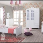 Genç kız odası dekorasyonu