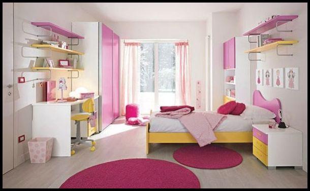 Genç kız odası tasarımları