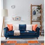 Zen home lacivert kanepe modeli