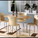 Koçtaş mutfak metal masa takımları