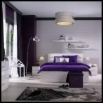 Koçtaş  mor beyaz yatak odası takımları