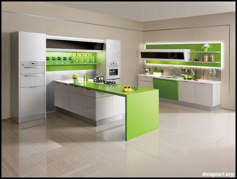 Tekzen mutfak tasarımları