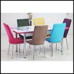 Renkli sandalye modelleri