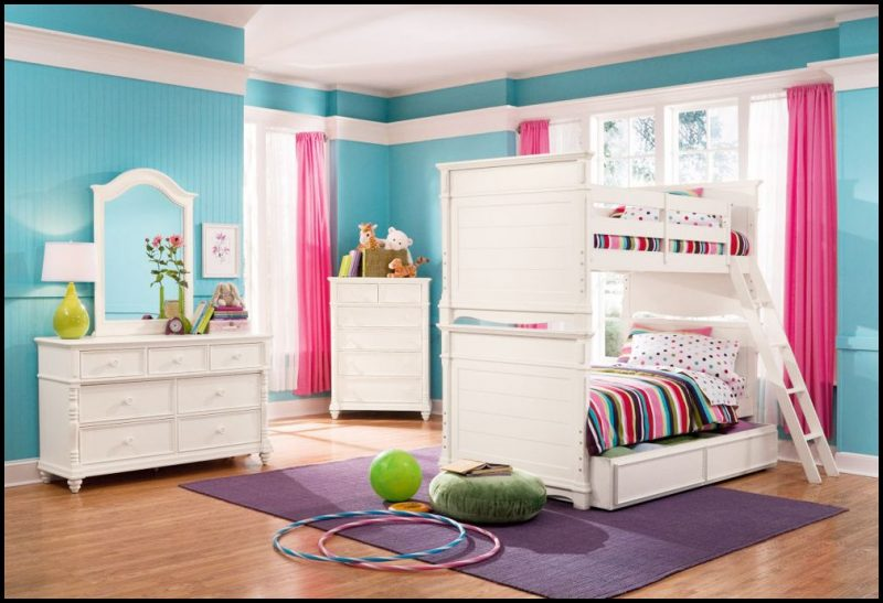 Turkuaz genç odası modelleri