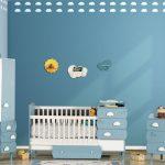 Kilim bebek odası modelleri bulut