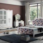 İpek mobilya beyaz yatak odası takımı  massimo